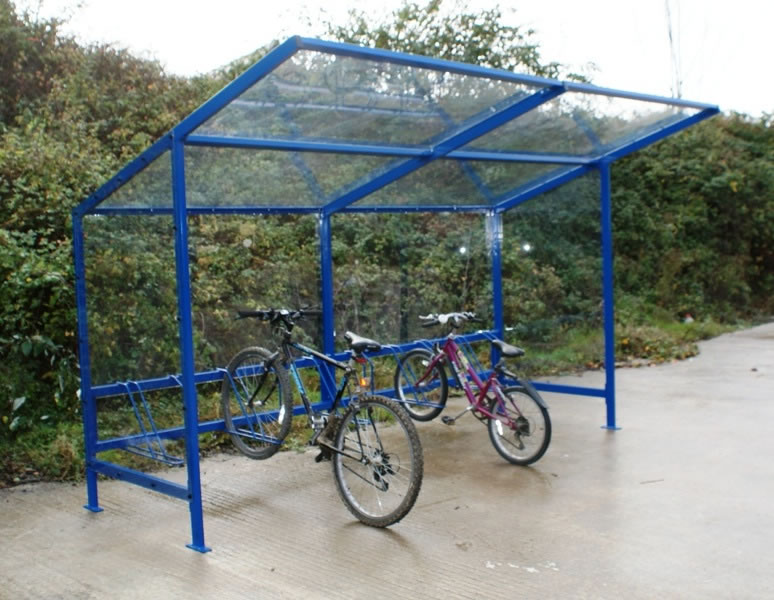 Bike Rack Shelter : Bike shelters stands cycle racks storage